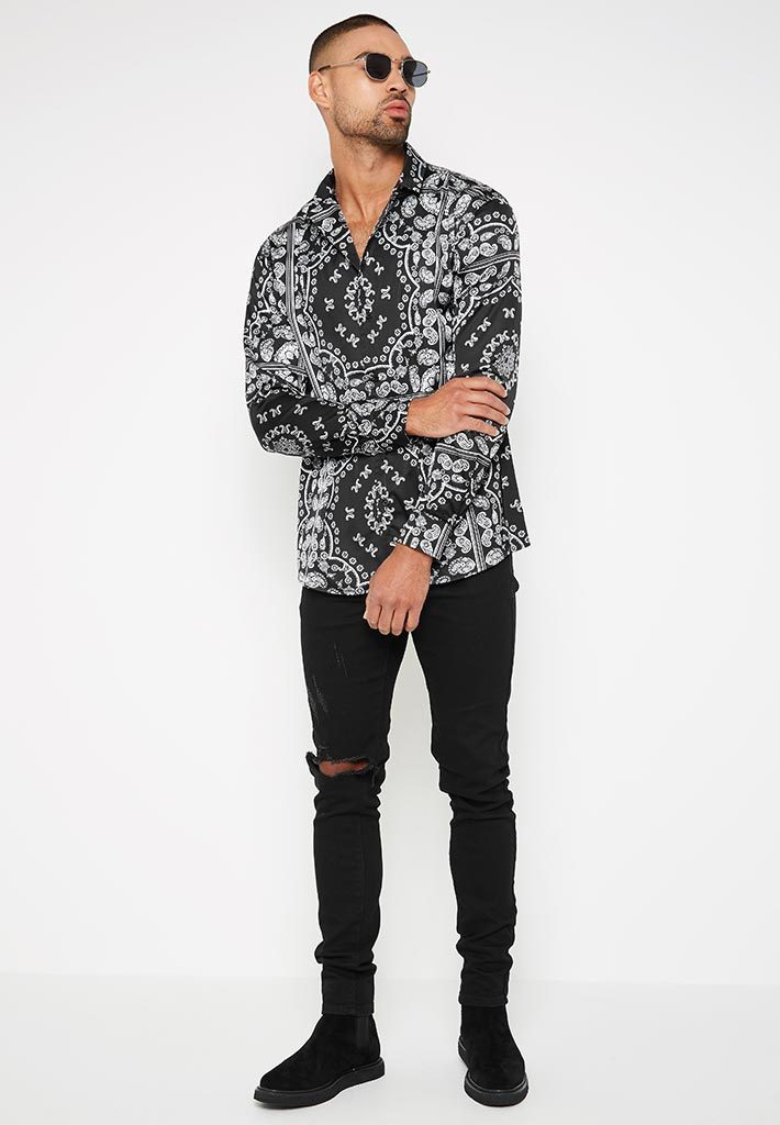 baroque-satin-shirt-black