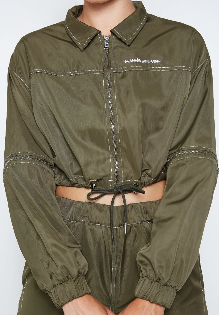 contrast-stitch-zip-detail-shell-jacket-khaki
