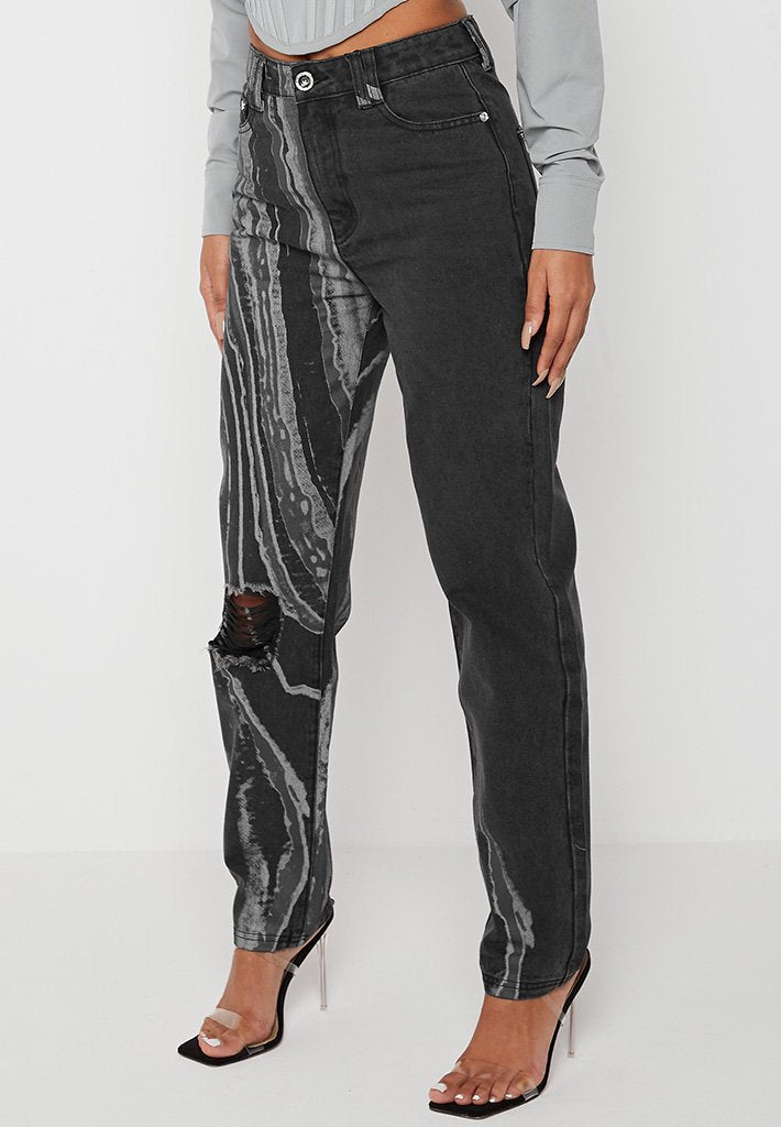 marble-print-mom-jeans-washed-black