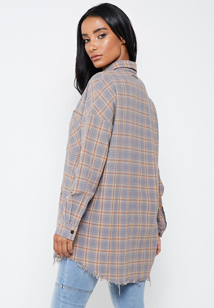 checked-oversized-shirt-with-distressing-beige