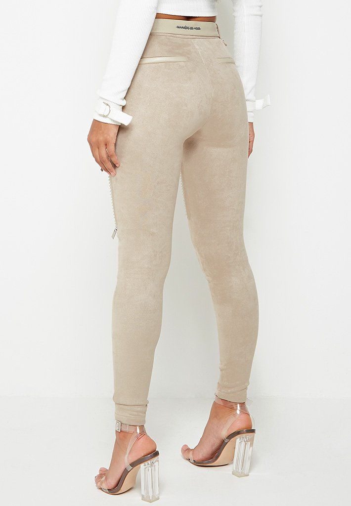 ribbed-faux-suede-biker-leggings-beige