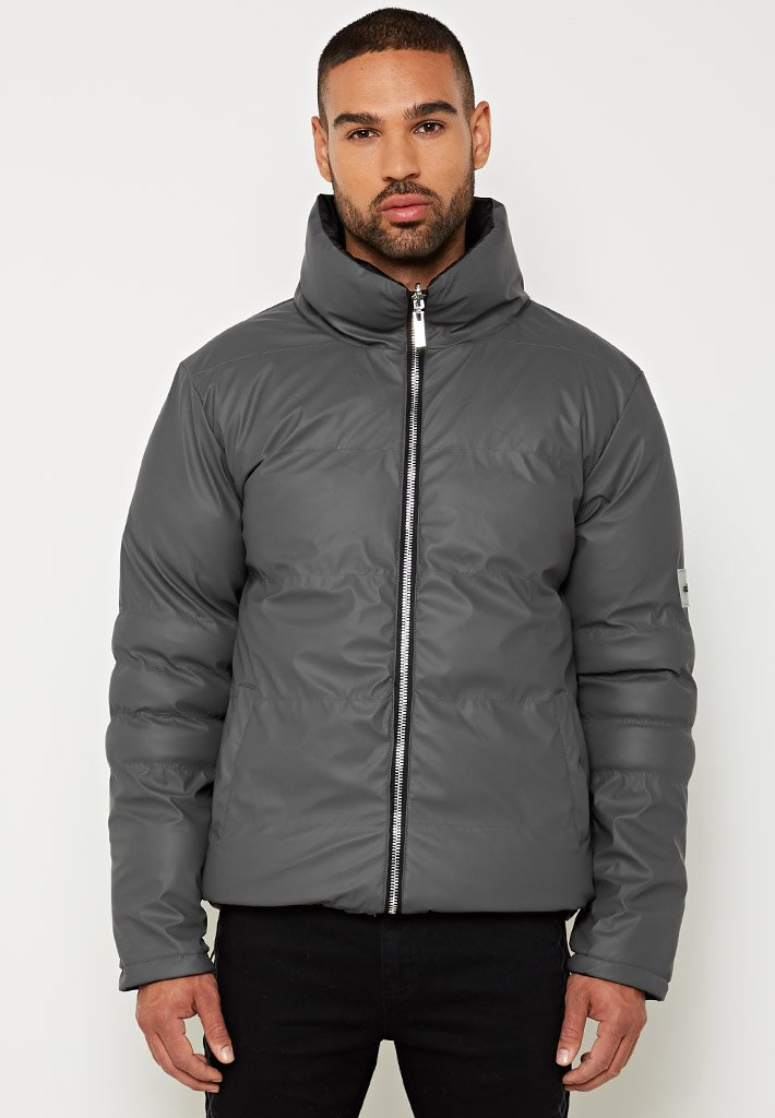 reversible-matte-biker-puffer-coat-black-grey