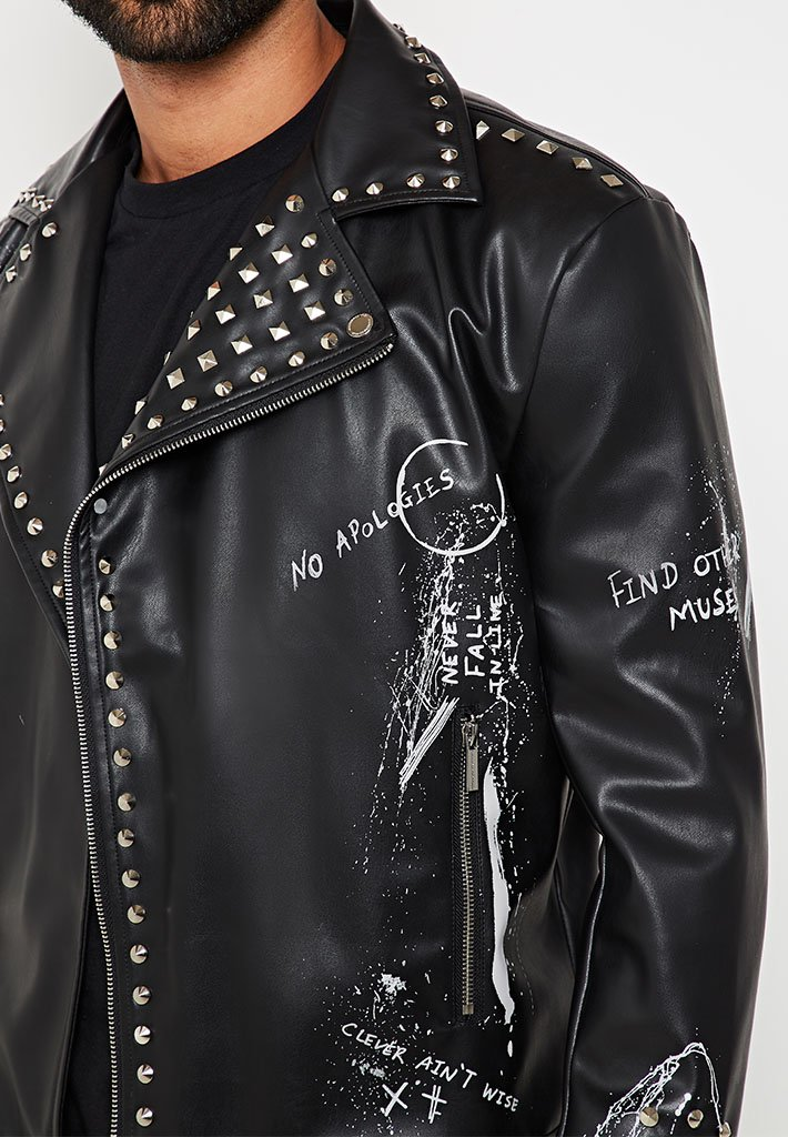 limited-edition-studded-graffiti-biker-jacket-black-1