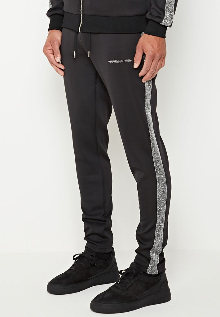 metallic-stripe-tracksuit-bottoms-black