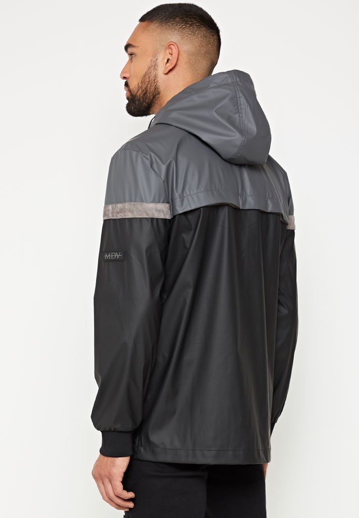 suede-panelled-rain-jacket-black