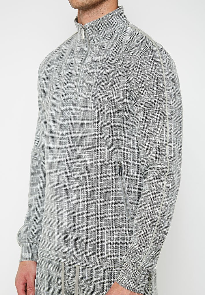 1-4-zip-check-tracksuit-jacket-grey