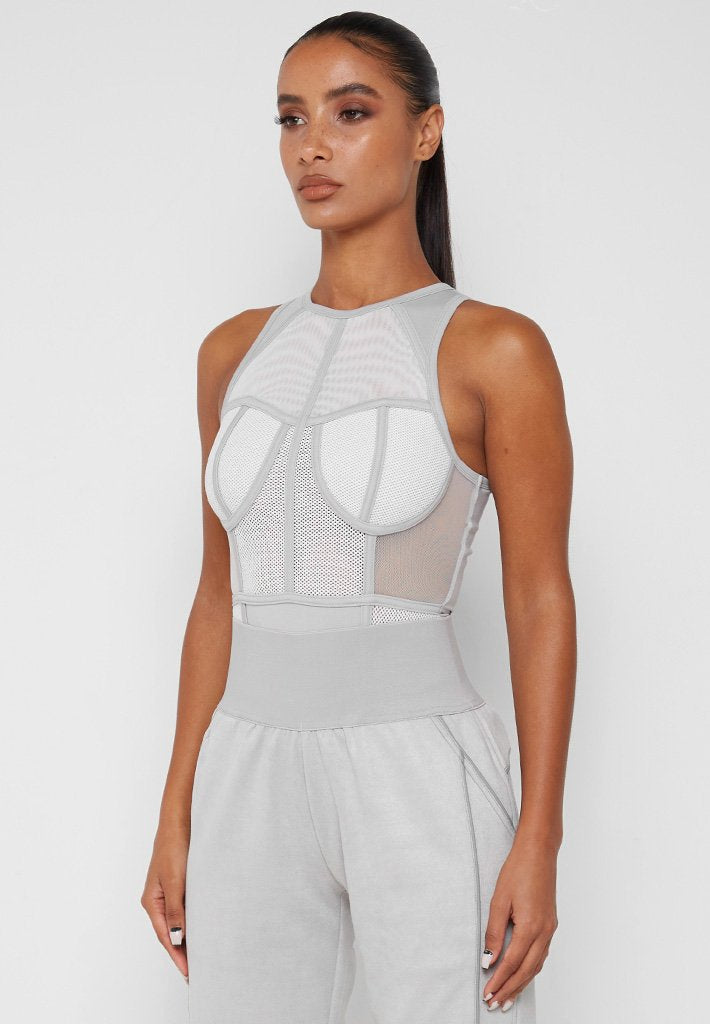 mesh-racer-neck-bodysuit-grey