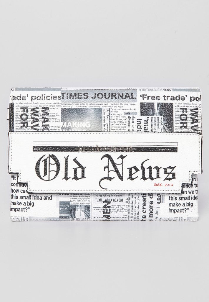 newspaper-print-clutch-white