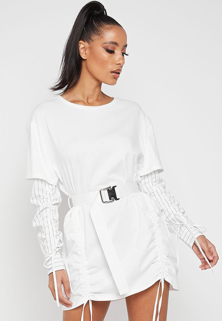oversized-t-shirt-dress-with-shirt-sleeves-white