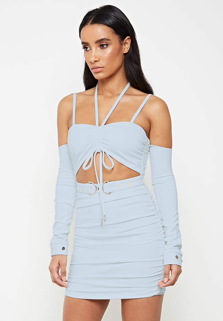 ruched-long-sleeve-dress-pale-blue