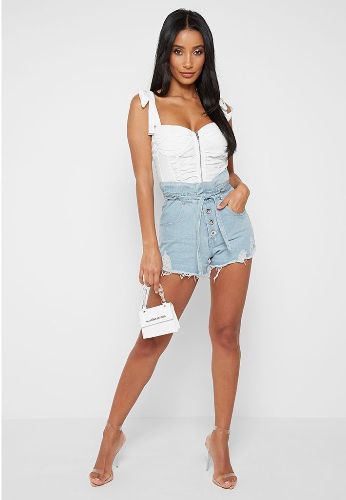 paperbag-distressed-denim-shorts-light-blue