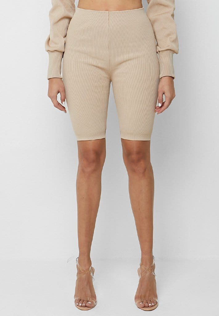 ribbed-cycling-shorts-beige-1