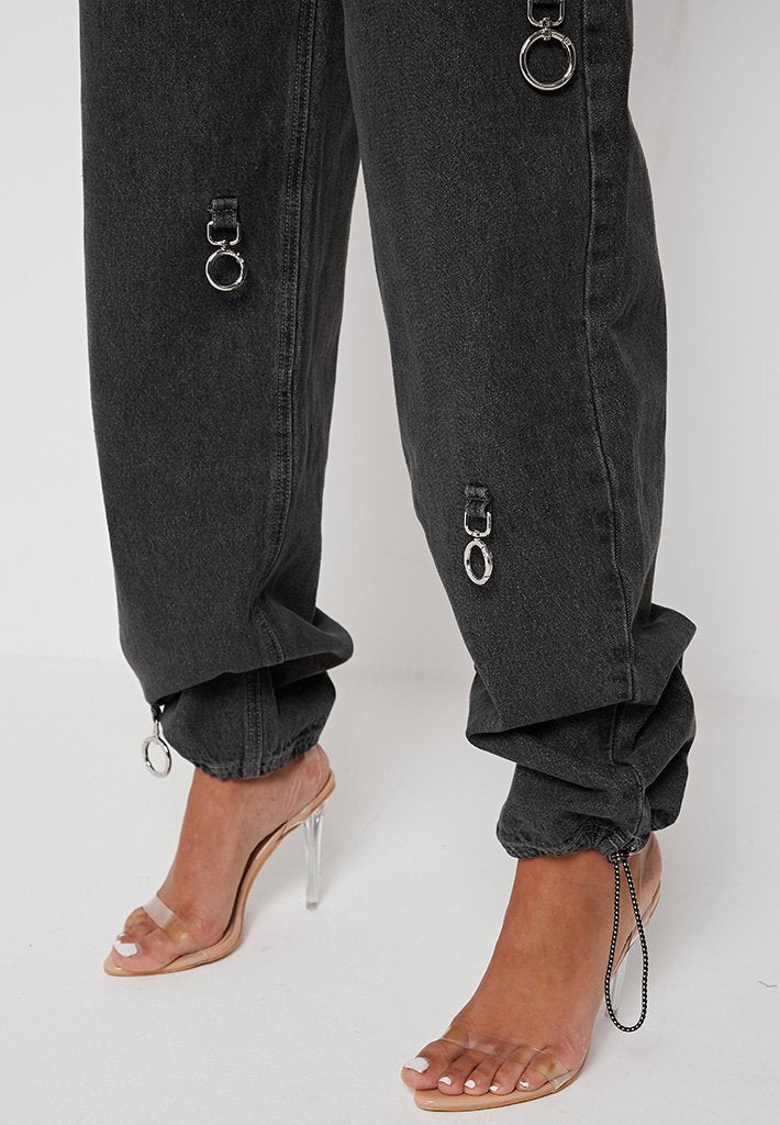 ring-detail-baggy-jeans-washed-black