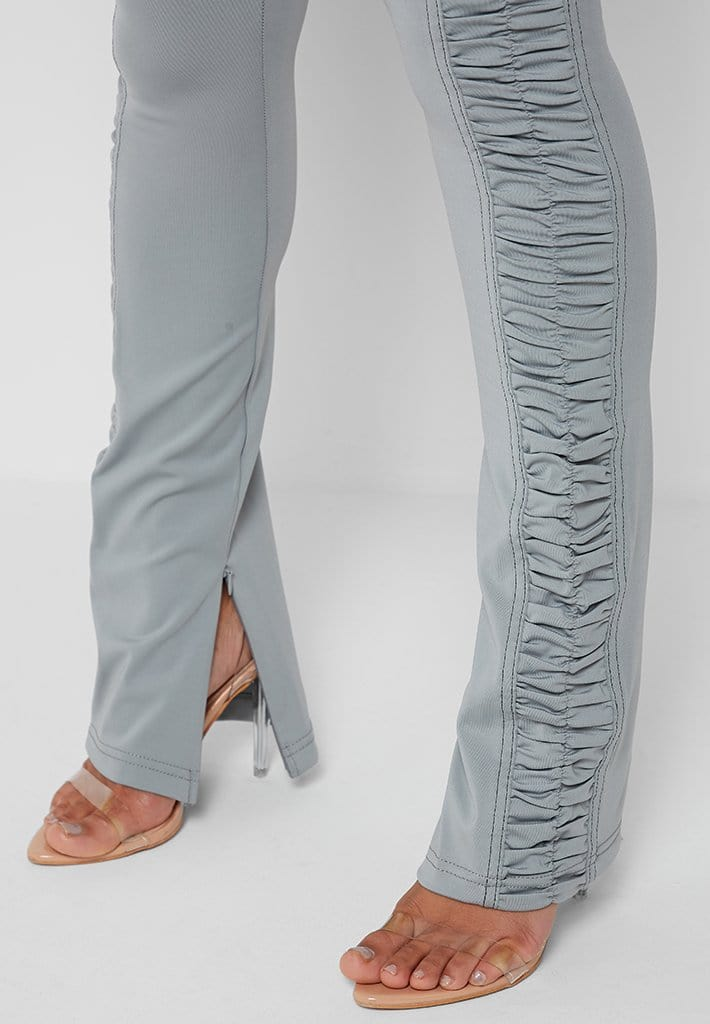 ruched-side-flared-leggings-iced-grey