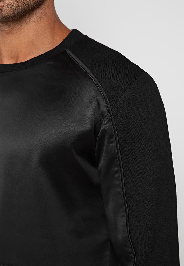 sateen-panel-jumper-black