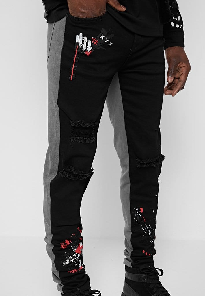 split-graffiti-jeans-black