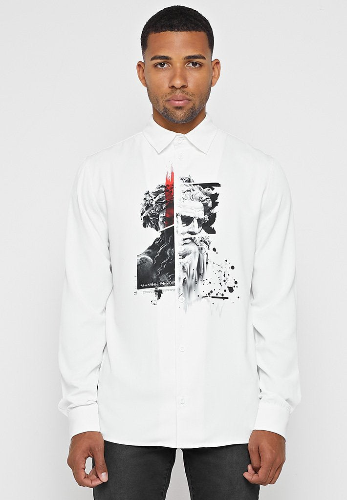 statue-printed-shirt-white
