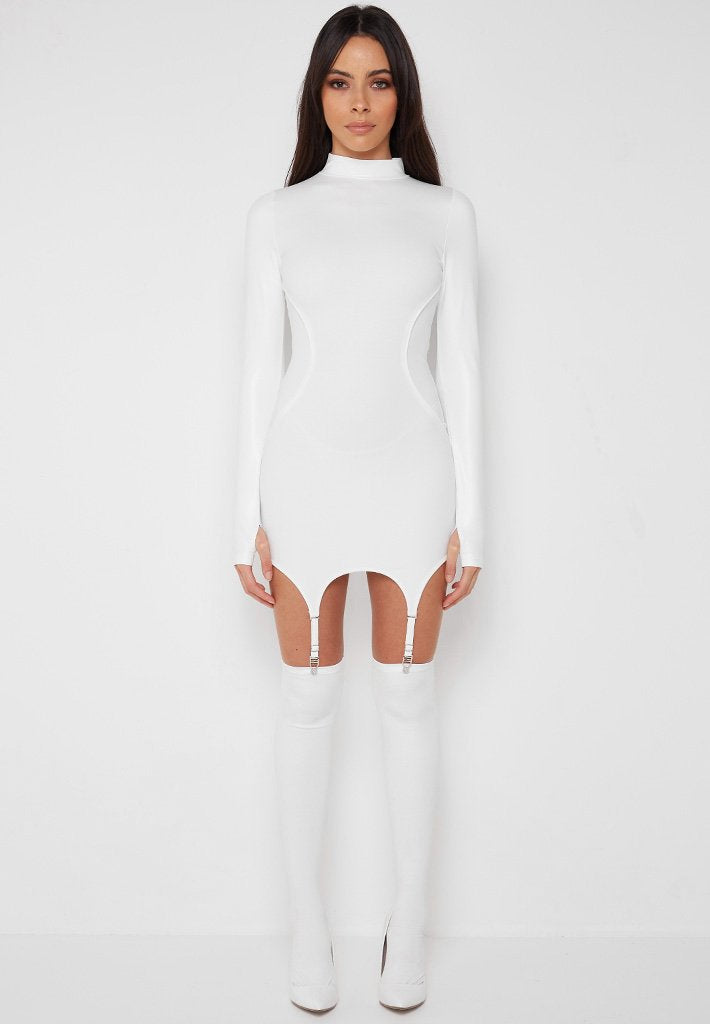 vegan-leather-suspender-dress-white