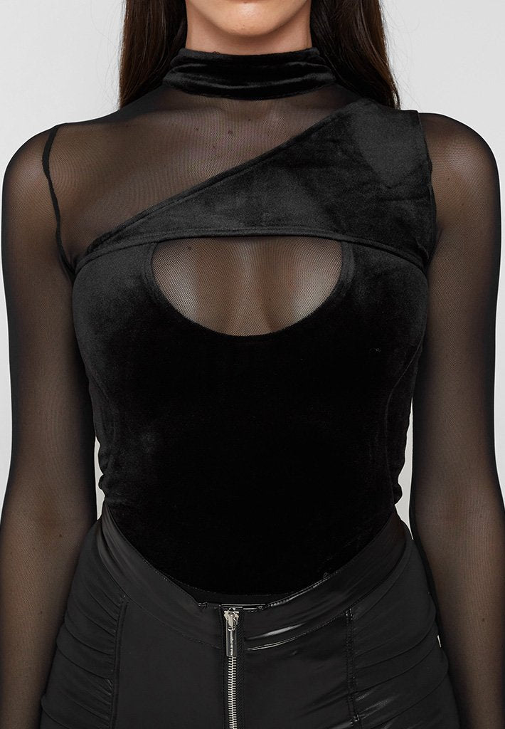 high-neck-velour-mesh-bodysuit-black