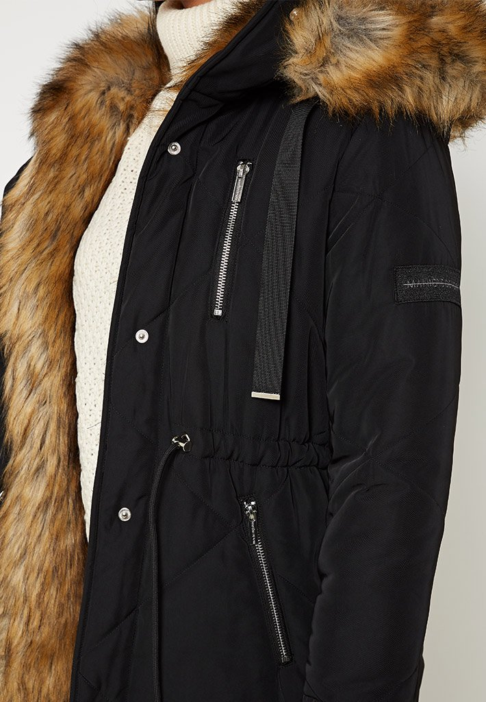 vienna-fur-lined-quilted-coat-black