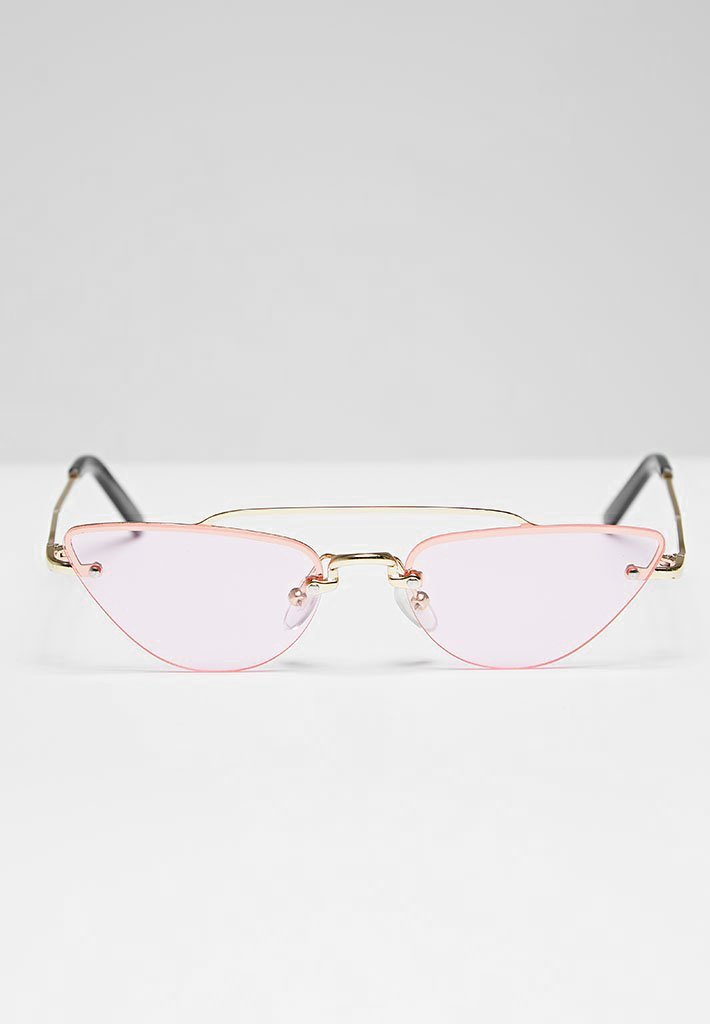 Cat Eye Aviator Sunglasses - Pink