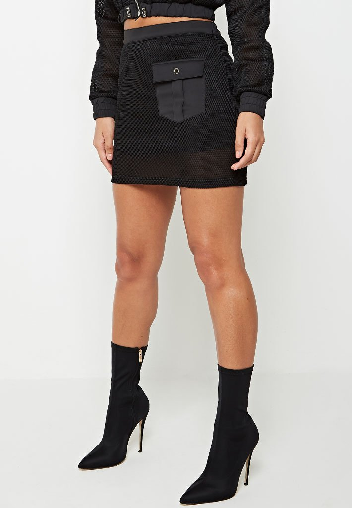 mesh-mini-skirt-black