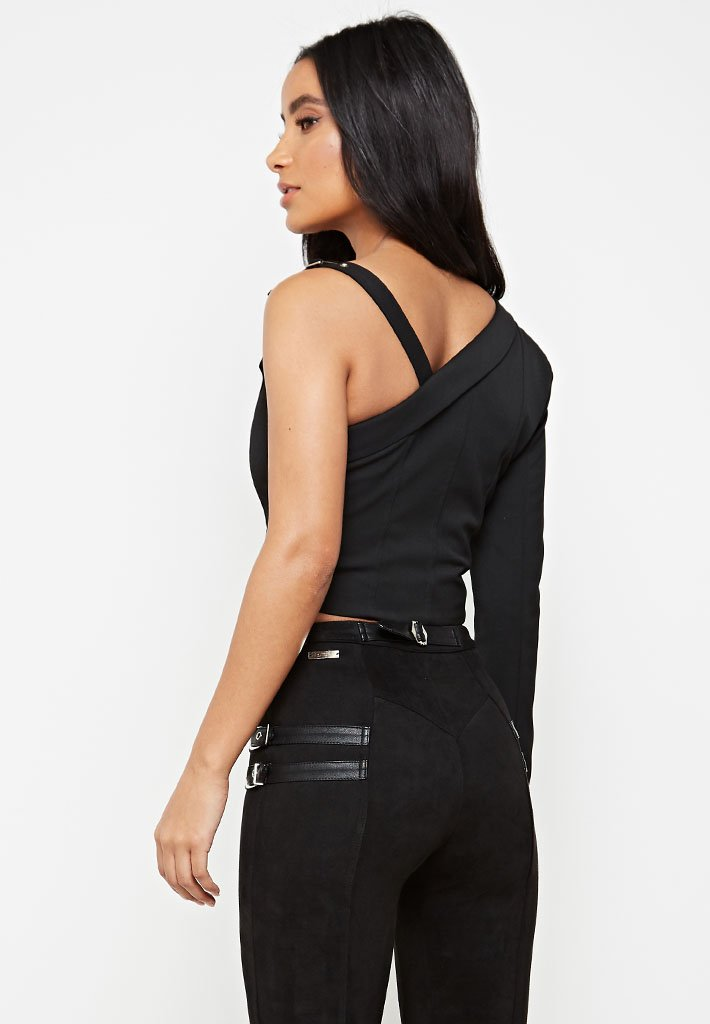 one-shoulder-blazer-top-black