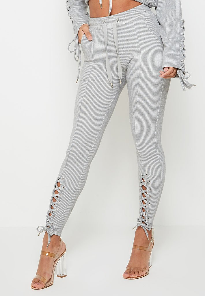 rib-texture-lace-up-leggings-light-grey
