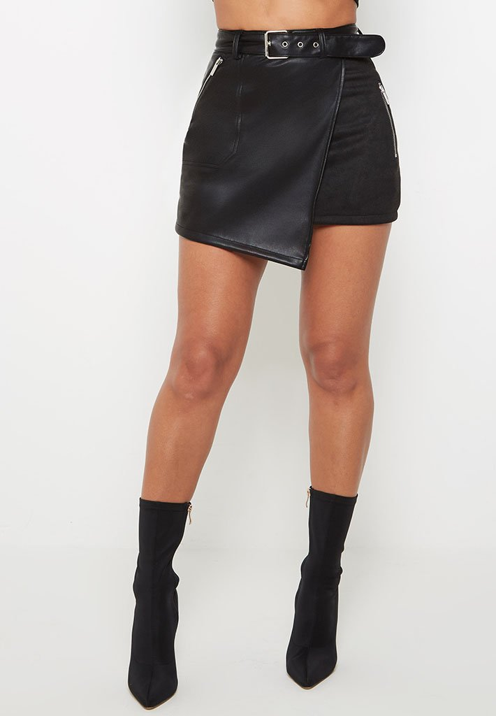 suede-leather-skirt-black