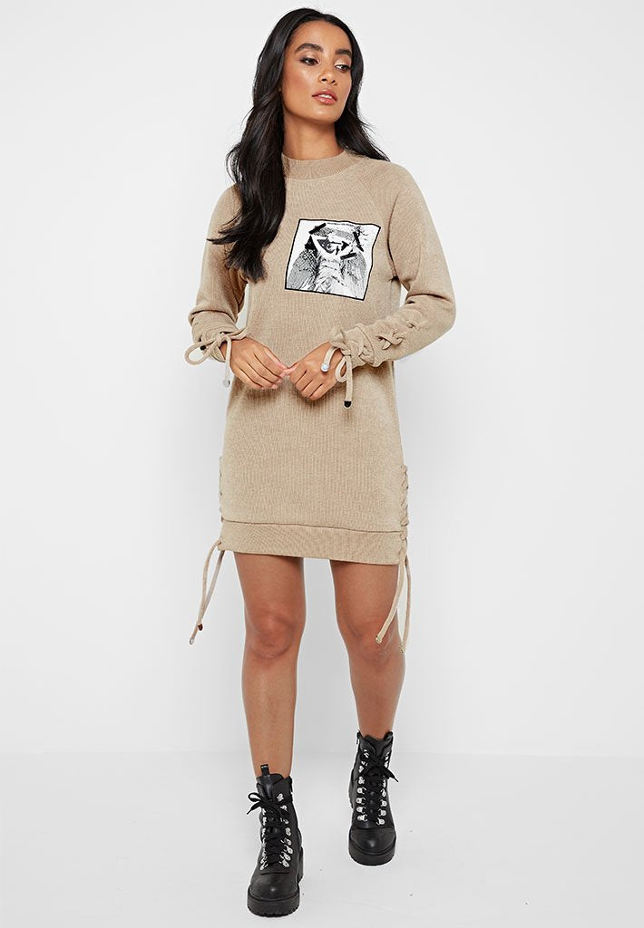 lace-up-knitted-jumper-dress-beige
