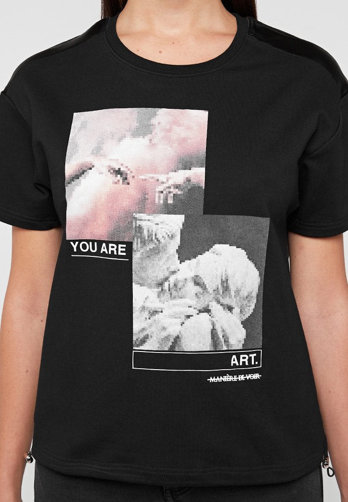 You-Are-Art-T-Shirt-Black