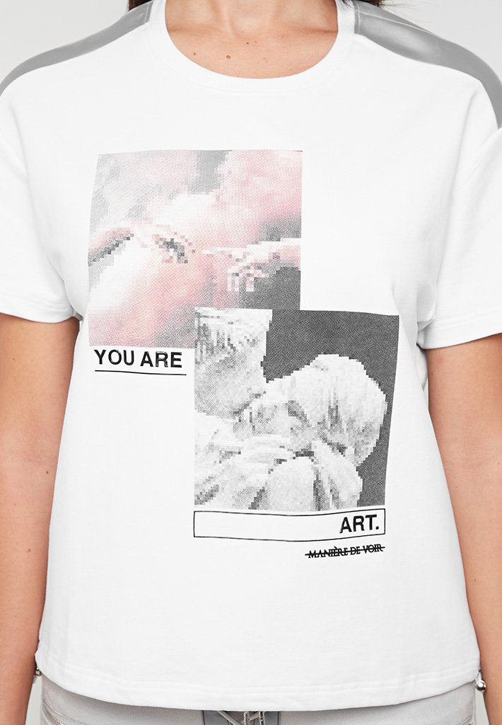 You Are Art T-Shirt - White