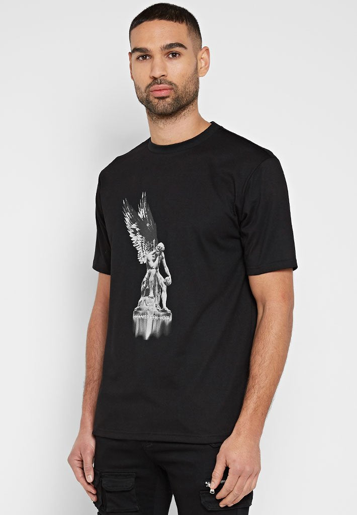 angel-statue-t-shirt-black