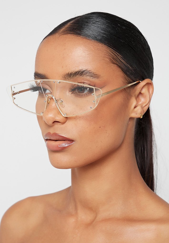rimless-visor-sunglasses-clear-gold