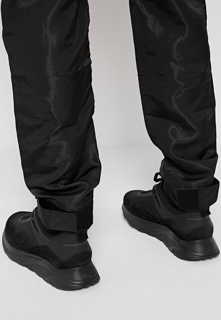 luxe-shine-cargo-pants-black