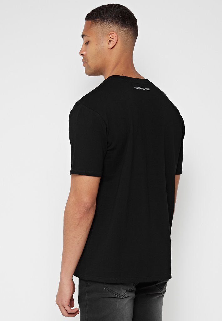 line-art-t-shirt-black