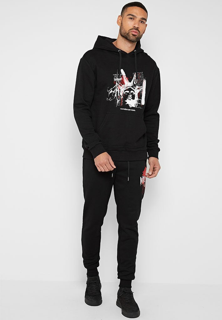 liberty-graphic-print-hoodie-black
