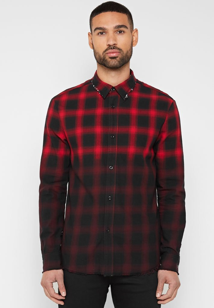 distressed-check-shirt-with-fade-red-1