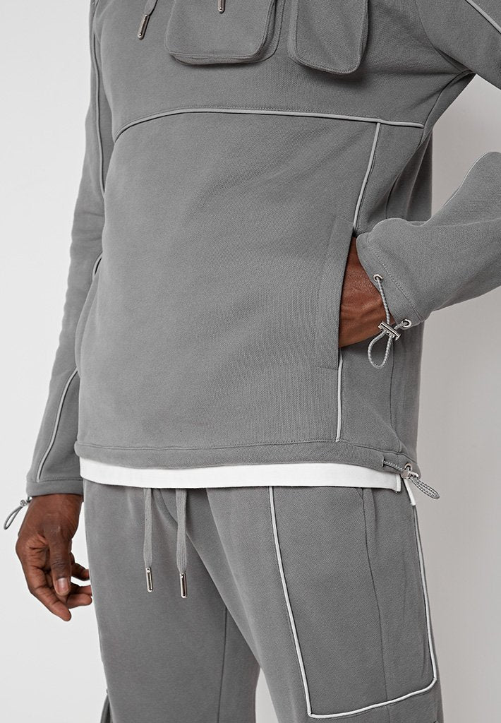 reflective-piped-hoodie-grey