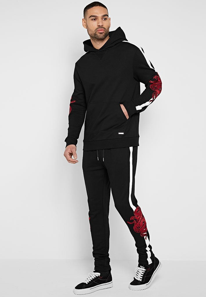 snake-embroidered-tracksuit-bottoms-black