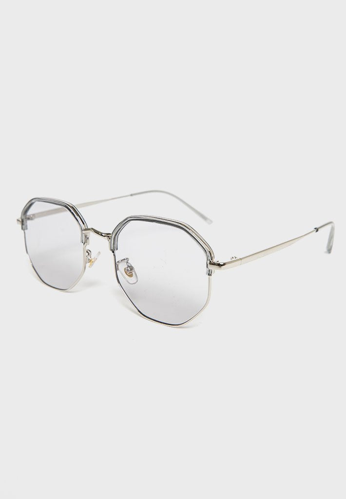 octagonal-sunglasses-clear