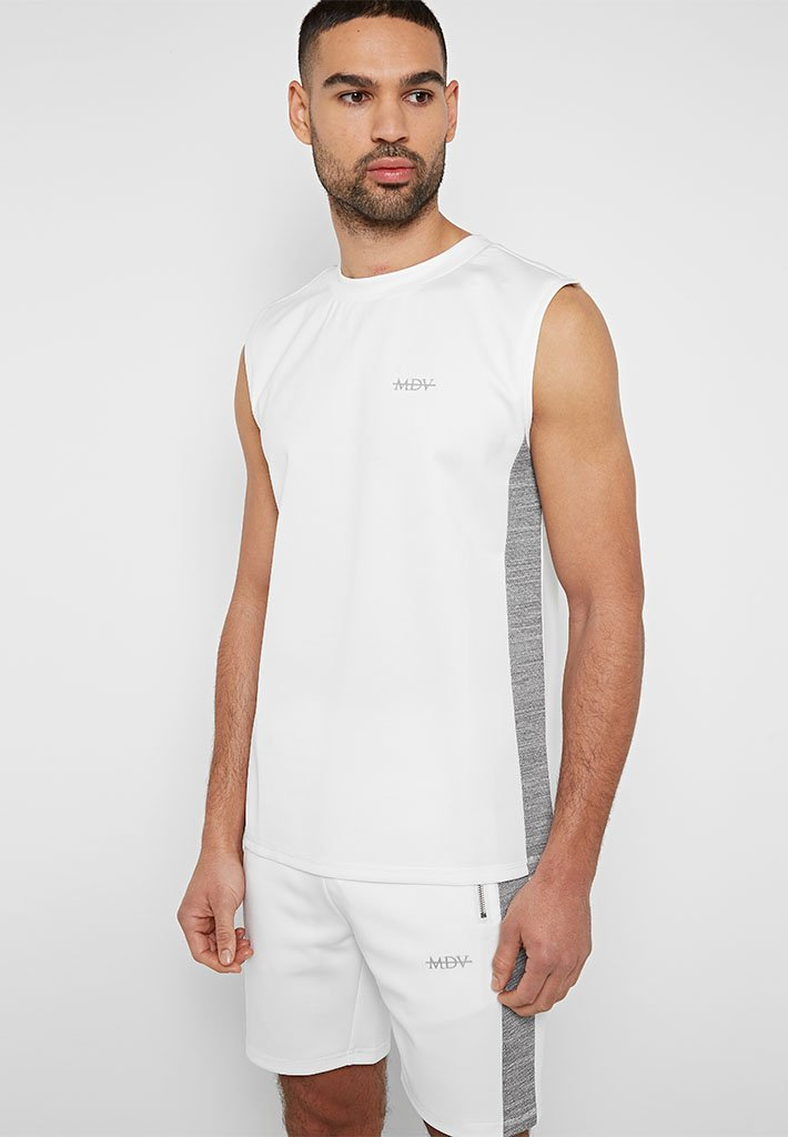 textured-stripe-sports-luxe-tank-top-white