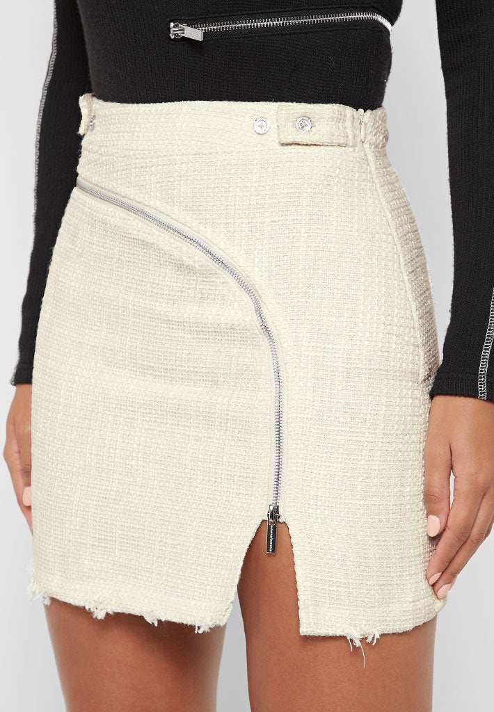 tweed-mini-skirt-with-zip-detail-off-white