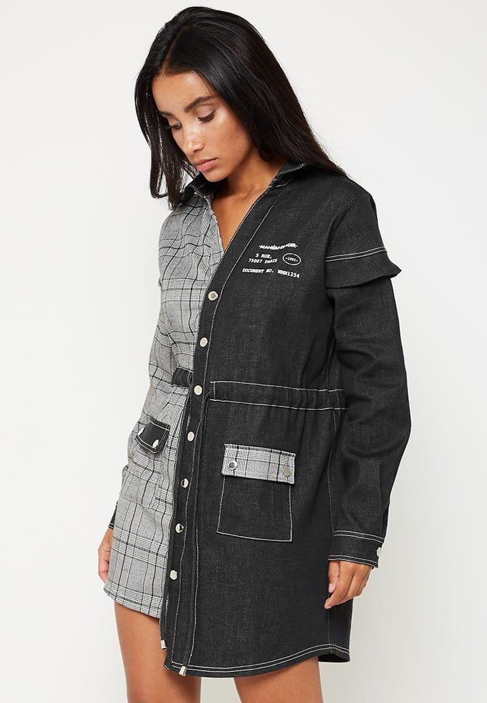 check-denim-shirt-dress-grey
