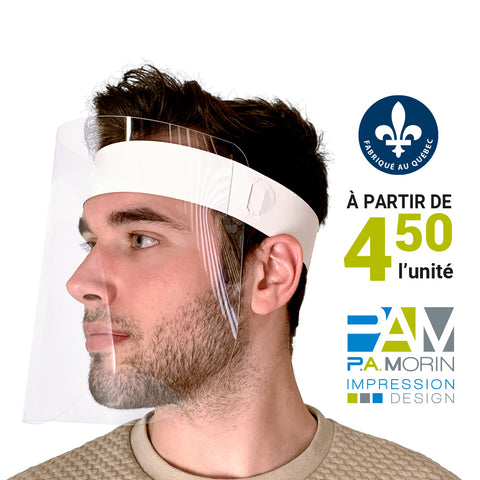 Écran facial de protection