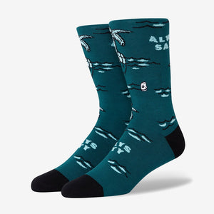 Palm Tree Socks For men