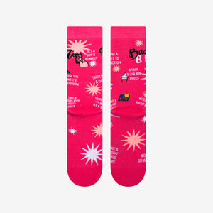 Load image into Gallery viewer, Raunchy pink bachelorette socks