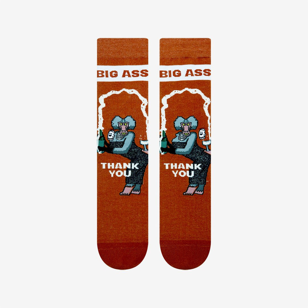 Load image into Gallery viewer, Funny monkey socks for men