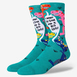 Hilarious dino socks for men