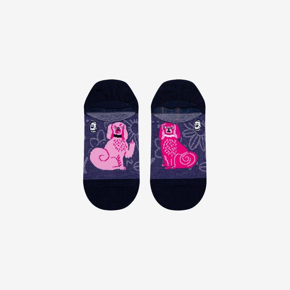 Dog print socks for ladies
